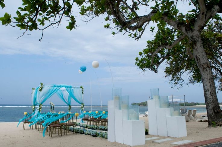 My wedding ceremony setup at Nusa Dua  http://www.balibrides.com.au/bali-wedding-packages