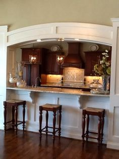 59 Best Pass Through Windows Images On Pinterest | Dining Room, Kitchen And  Traditional Kitchens