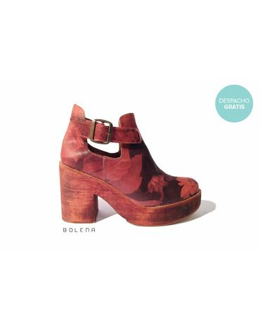 Botín Adele Flores | Chilean handmade shoes