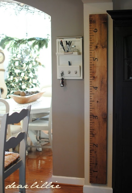 Dear Lillie ruler growth chart. I can diy this