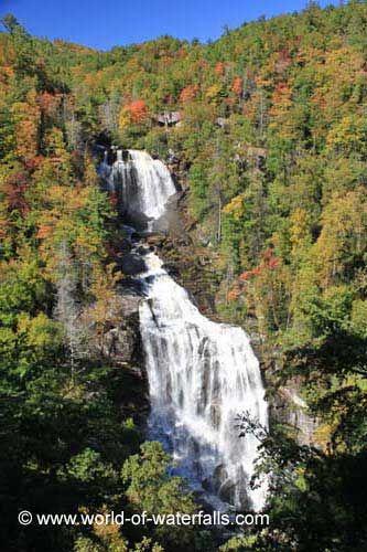 Upper Whitewater Falls (Nantahala National Forest, North Carolina, USA)
