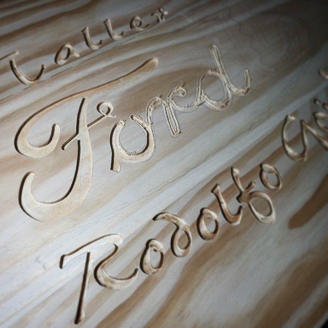 Avances en la cubierta de mesa para taller Ford T