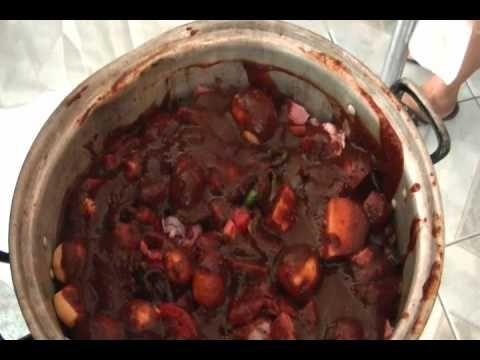 CHUCHEMAN   como hacer  barbacoa de res-How to make beef Barbecue