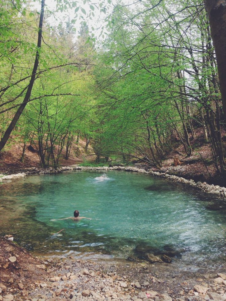 """dah-bomb-dot-com: """" Hot springs in Villach Austria from my weekend trip there """""""