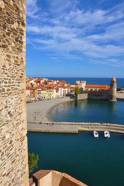 Collioure, South of France.I would love to go see this place one day.Please check out my website thanks. www.photopix.co.nz