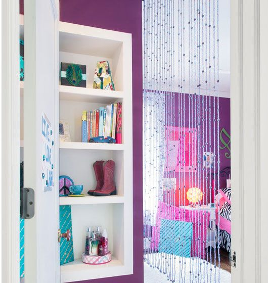 Think Outside The Door Cool Design Ideas For Beaded Curtains Girls Home And Grey
