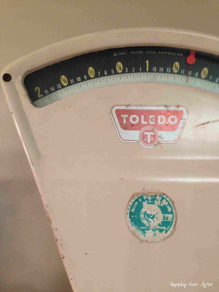 How gorgeous is this beautiful antique Toledo scale? Love it! Happily Ever After, Etc.