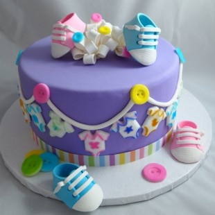 Cake Decorating Kits For Baby Shower : 215 best images about Baby Shower Cakes on Pinterest ...