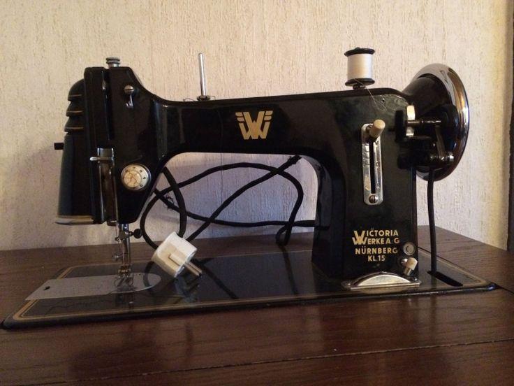 Nähmaschine Victoria Werke Nürnberg Kl 15 in in Bockenem