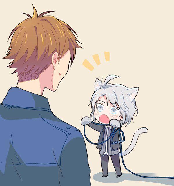 Idolish7 Gaku and Ryu
