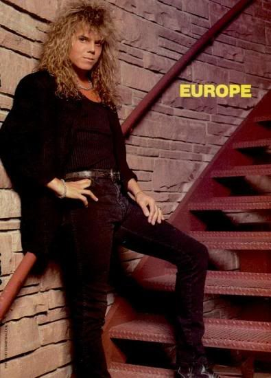 *···Prisioners of Europe···*: 19º Joey Tempest contra la pared...