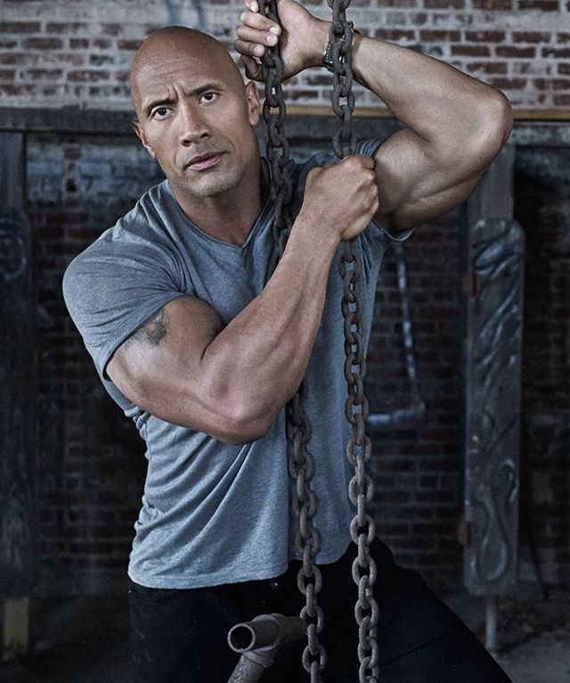 Love this picture. ❤️ #dwaynejohnson #therock #britishgqmag