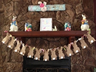 Cottontail DIY Easter Banner