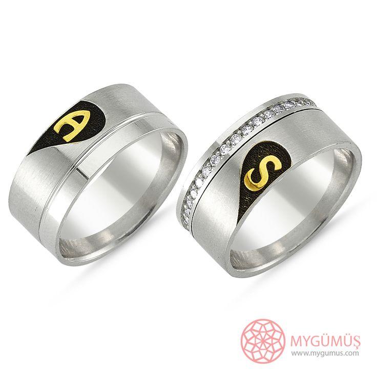 Gümüş Alyans MYA1002   #gümüş #alyans #çelik #yüzük #ring #wedding #evlilik #düğün #söz #nişan #mygumus #mygumuscom #çift #erkek #kadın #woman #man #moda #takı #jewellry
