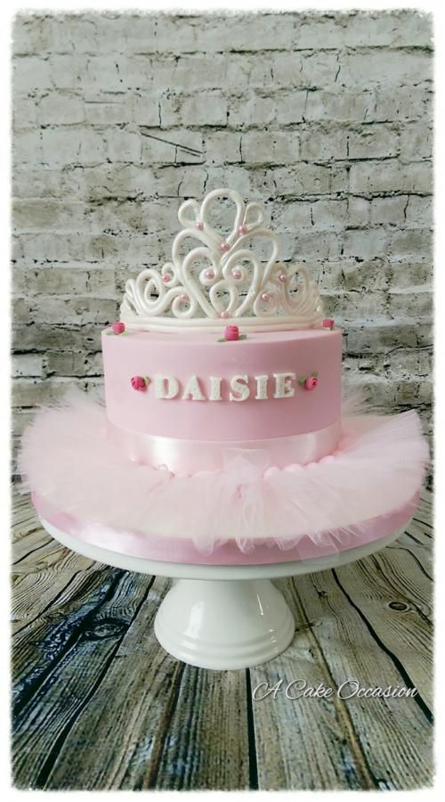 Princess themed cake by A Cake Occaaion
