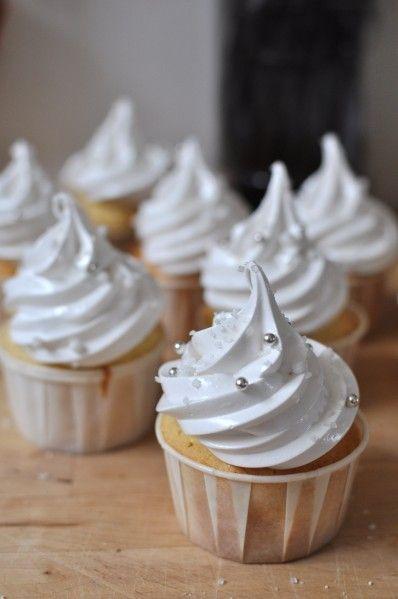 Cupcakes Vanillés de Noël, Mariage ... Communion ... je m'égare ! - La popotte de Manue