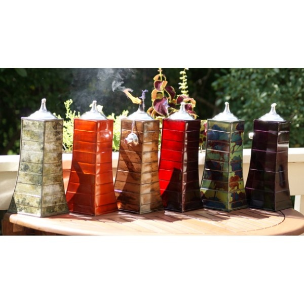 The Pyramid Tabletop Tiki Torch    The Easiest Way To Light Every Home And  Garden