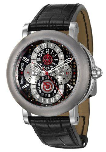 Gerald Genta Arena PC GMT Men's Automatic Watch AQG Y 66 915 CN BD Reviews 2013