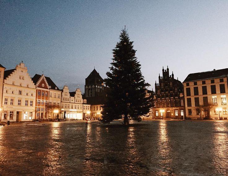 Beautiful  Frozen Greifswald vorpommern