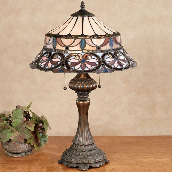 Gabriela Stained Glass Table Lamp Stained Glass Table Lamps Glass Table Lamp Modern Lamp