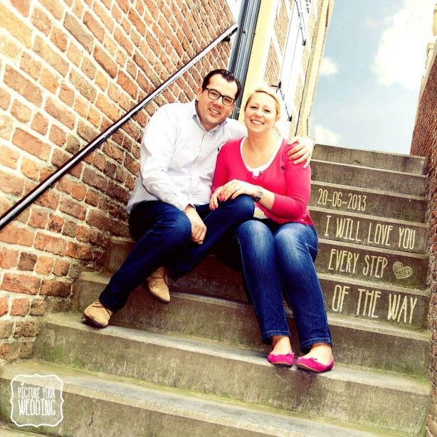 Picture Your Wedding Loveshoot #bruiloft #trouwdag #fotografie #prewedding #trap