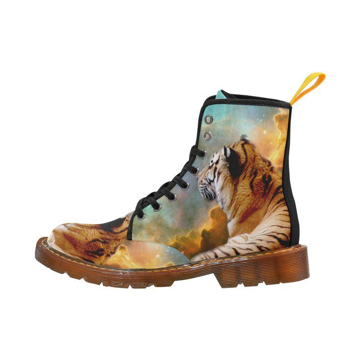 Tiger and Nebula Martin Boots For Men #erikakaisersot #artsadd #boots