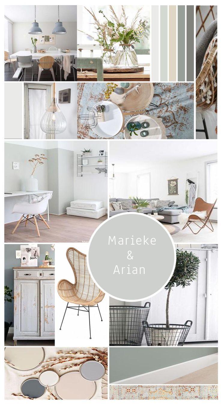 Project Broekhorn, een interieuradvies voor woonkamer en keuken. #woonkamer #eetkamer #keuken #interieuradvies #styling