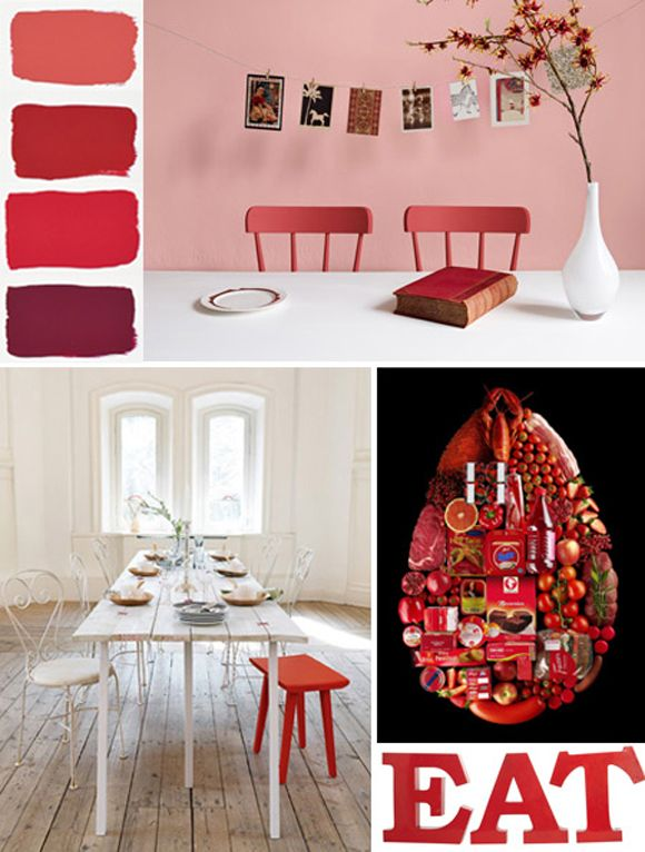 Rood in huis