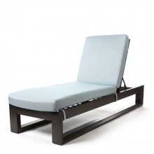 Element chaise lounge with Idol Frost cushions | Chaise ...