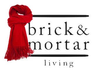 "Brick & Mortar Living ""Red Scarf""  ~  IMAGE FROM: http://www.farfetch.com/shopping/women/acne-fringed-hem-scarf-item-10261335.aspx"