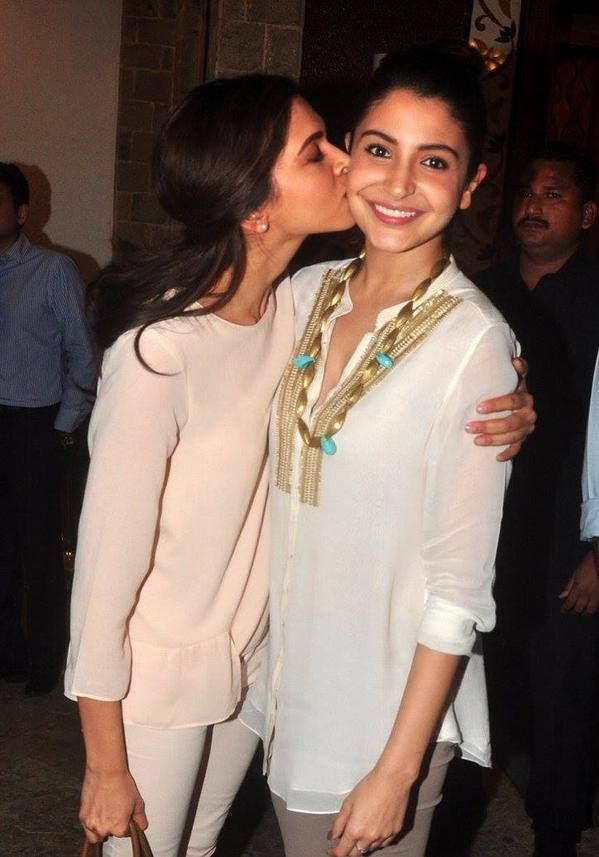 #Zovi  B-town's newest besties? Who do you prefer—Anushka Sharma or Deepika Padukone?