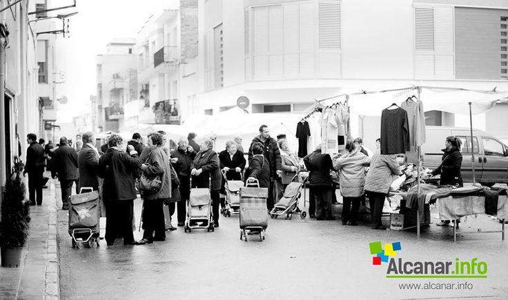 Dijous és dia de mercat a Alcanar.