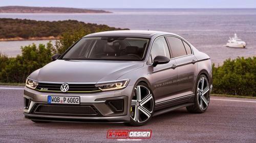 Volkswagen Passat R400 Concept Rendering Pictures