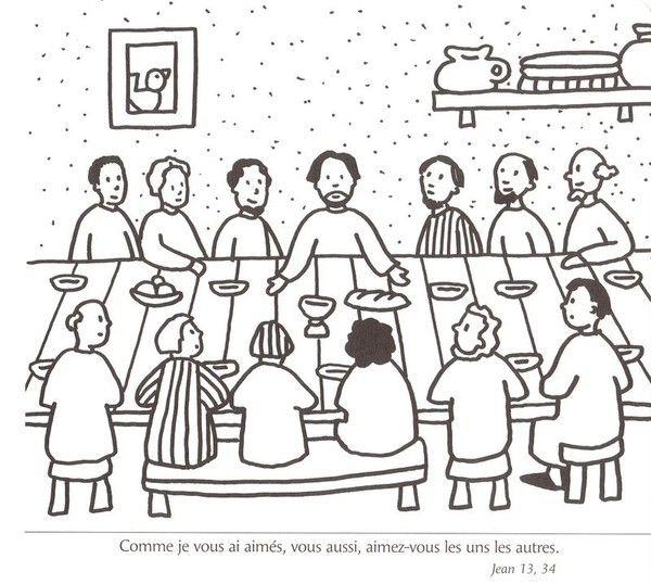 images about Bijbel: Het laatste avondmaal, kleuters / Bible: Jesus ...