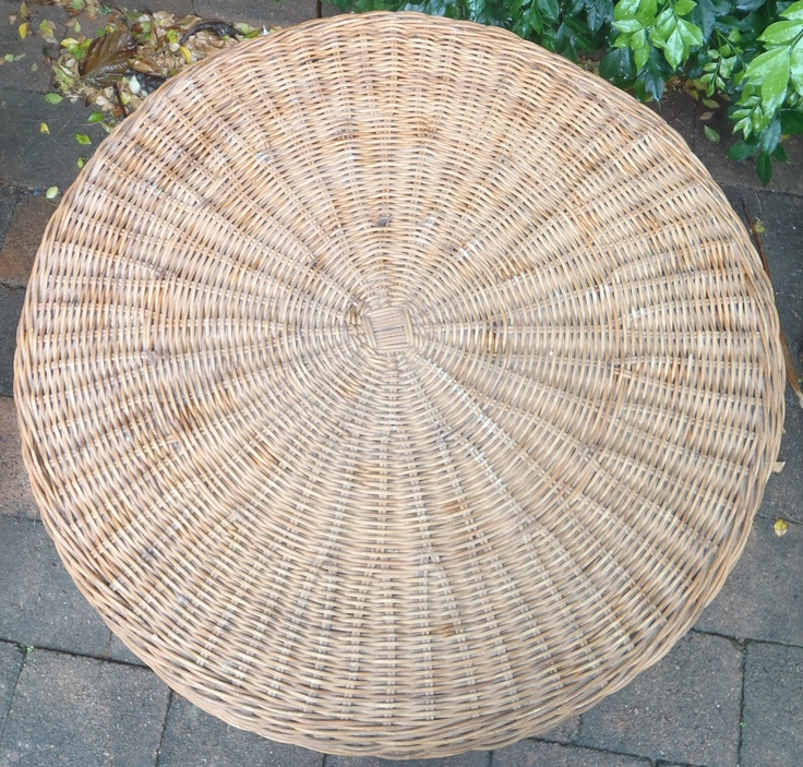 Cane Side Table Top