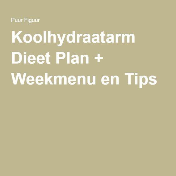 Koolhydraatarm Dieet Plan + Weekmenu en Tips