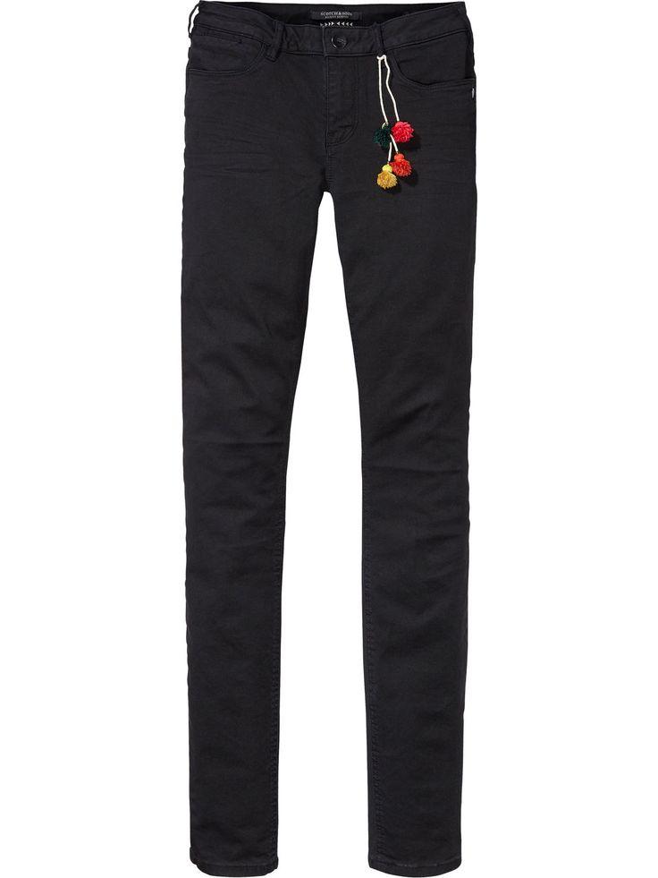 La Bohemienne - Vintage broek | Mid rise skinny fit | Broeken | Dameskleding bij Scotch & Soda