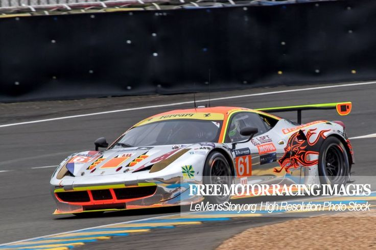 2016 458 Italia Race Car Clearwater Racing team 24 Hours of Le Mans https://lemansstory.org/