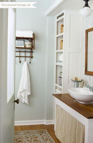 Cottage Bathroom   The Lettered Cottage by elagg