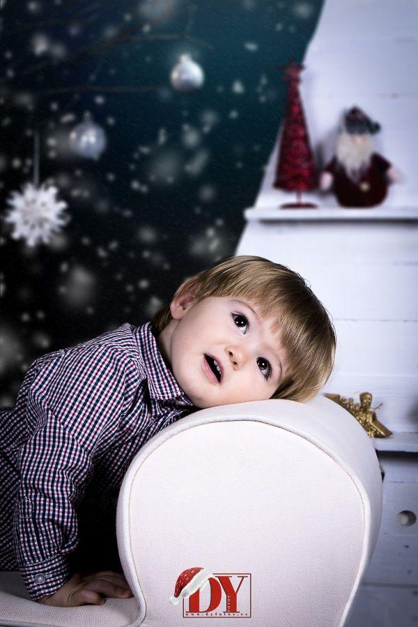 Sesiones niños en Navidad