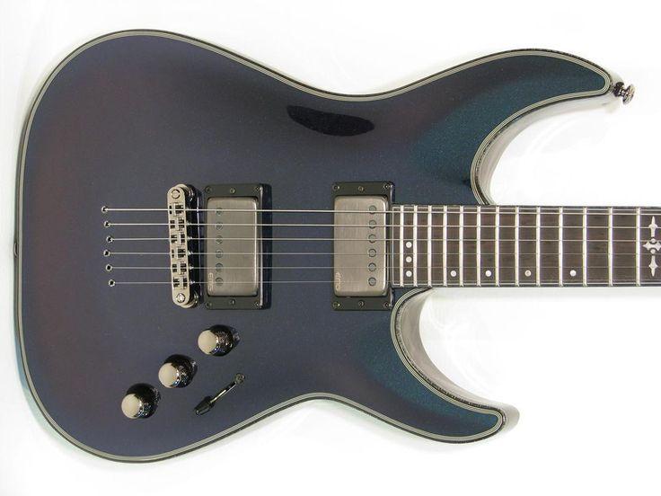Schecter Hellraiser Hybrid C-1 Electric Guitar UV - https://magemusiconline.com/product/schecter-hellraiser-hybrid-c-1-electric-guitar-uv/