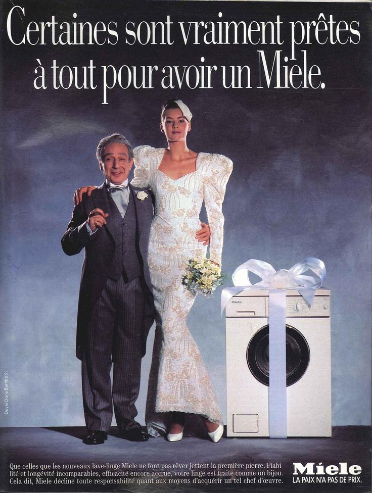 lave linge miele match n 176 2053 du 30 septembre 1988 carteles y publicidad antigua