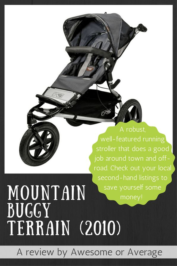 The 2010 Mountain Buggy Terrain is a functional and robust stroller that will do the distance for walking and running around town and off-road. I recommend checking out local secondhand listings, but if you'd rather buy new the latest model is even better - http://amzn.to/2edYIm0 (affiliate link)