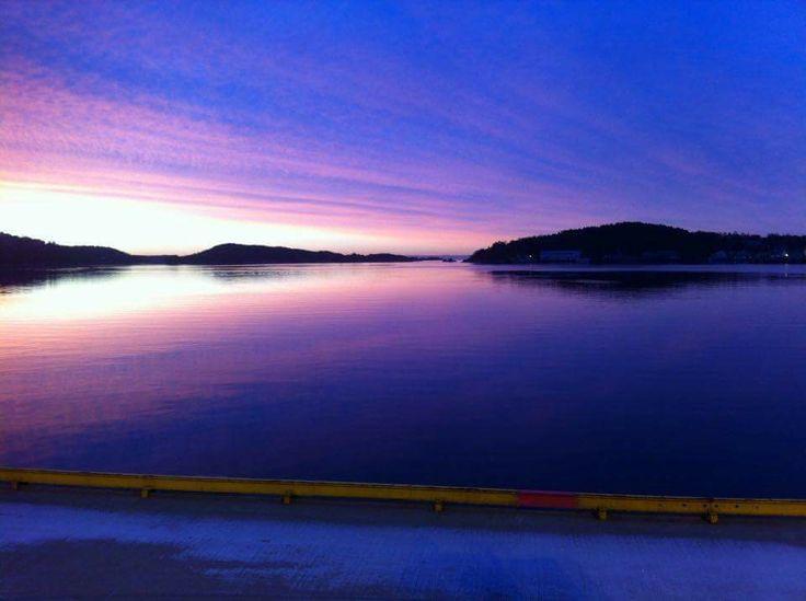 Sunrise Kristiansand Norway