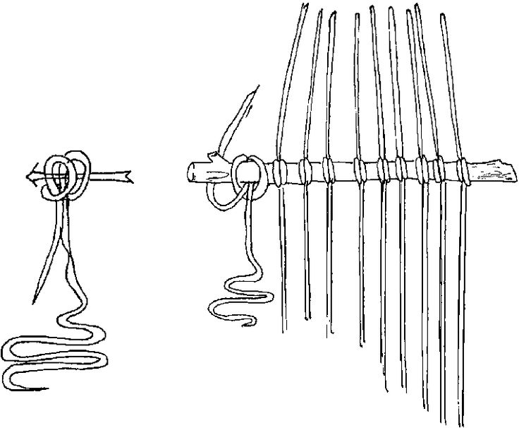 Finger-weaving was a craft that was originally practiced among the First Nations people in Eastern and Central Canada. The French colonists in the St. Lawrence Valley learned the technique through their trade with the Natives, and used it to make the ceinture fléchée that is now so iconic for French-Canadian dress. Originally called l'Assomption sashes (after the town where their production began in the 1700s), they became popular as trade goods. Click the pin to see how to do this yourself.