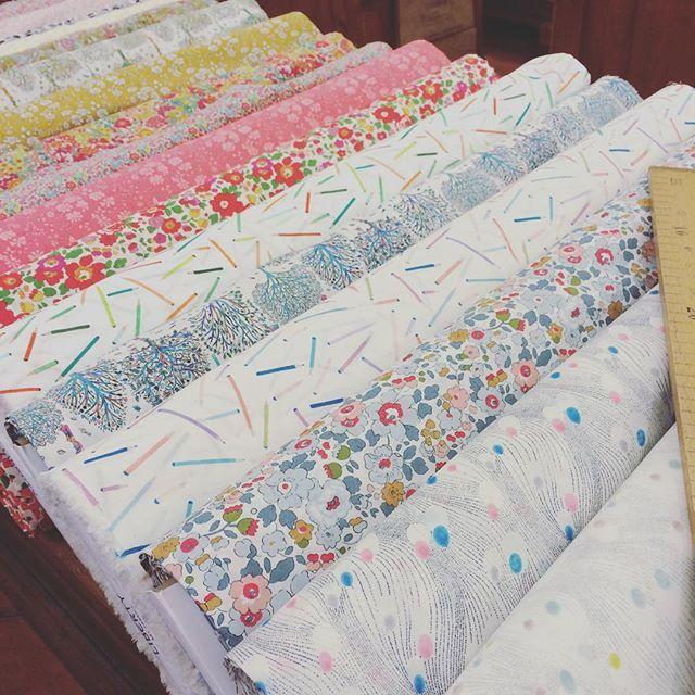 Sunny Liberty New Collection #inspiration #creativity #fashion #fabrics #liberty #sewing  lamercerieparisienne.com