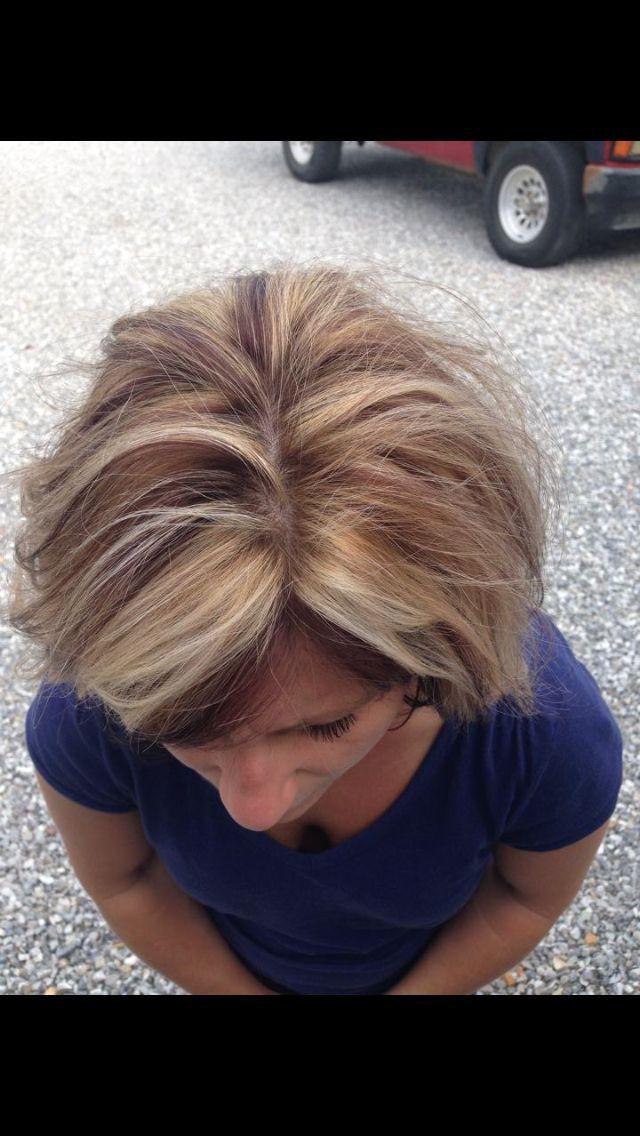Kenra 4BC 10 vol Blonde Me bleach 20 vol 2 blonde weaves to every thin dark slice