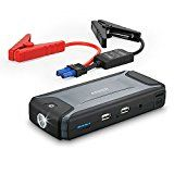 #2: [Ultra Compact] Anker Compact Car Jump Starter and Portable Charger Power Bank with 400A Peak Current Advanced Safety Protection and Built-In LED Flashlight