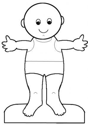 Gorgeous image pertaining to printable paper doll body