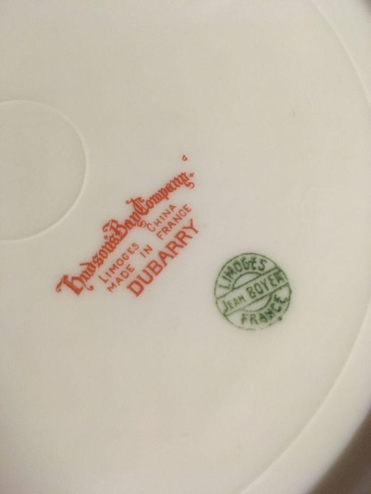 Mark on bottom of plate.